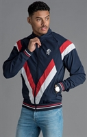 Picture of Gym King Jacket Sobers Funnel Neck Tracksuit Top Navy Nights