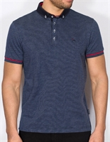 Picture of Bewley & Ritch Polo Shirt Bourg Navy