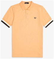 Picture of Fred Perry Polo Shirt Bold Cuff Apricot Nectar