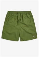 Picture of Fred Perry Shorts Swimshorts Textured Swimshort Cypress