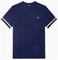 Picture of Fred Perry T-Shirt Bold Tipped French Navy
