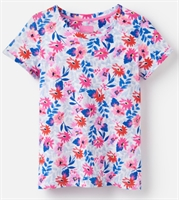 Picture of Joules T-Shirt Nessa Print White Multi Floral