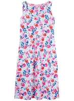 Picture of Joules Dress Gabriella White Multi Floral