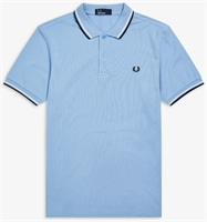 Picture of Fred Perry Polo Shirt M3600 Sky