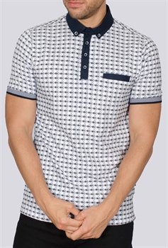 Picture of Bewley & Ritch Polo Shirt Pow White
