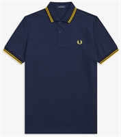 Picture of Fred Perry Polo Shirt M3600 Carbon Blue