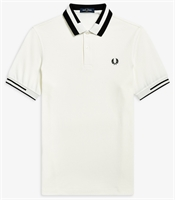 Picture of Fred Perry Polo Shirt Block Tipped Snow White