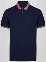Picture of Luke 1977 Polo Shirt Pewterville Navy