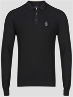 Picture of Luke 1977 Knitwear Job And Knock Black