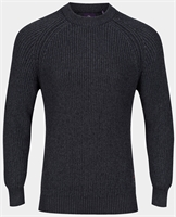 Picture of Luke 1977 Knitwear Plated Mrl Charcoal