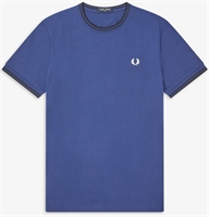 Picture of Fred Perry T-Shirt Twin Tipped Medieval Blue