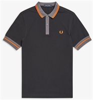 Picture of Fred Perry Polo Shirt Contrast Trim Black