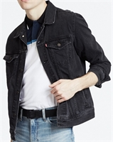 Picture of Levi's Jacket Trucker Denim Liquorice Grey