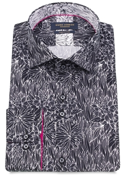 Picture of Guide London Shirt LS75187 Black
