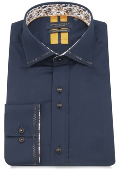 Picture of Guide London Shirt LS75295 Navy