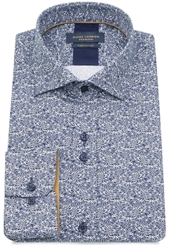 Picture of Guide London Shirt LS75225 Blue/White