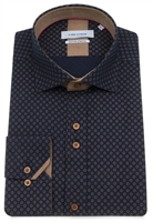 Picture of Guide London Shirt LS75033 Navy