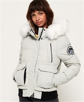 Picture of Superdry Ladies Jacket Everest Ella Bomber Glacier Grey