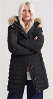 Picture of Superdry Ladies Jacket Icelandic Parka Black