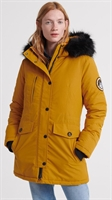 Picture of Superdry Ladies Jacket Ashley Everest Parka Amber Ochre