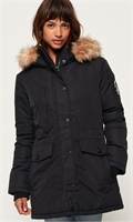Picture of Superdry Ladies Jacket Ashley Everest Parka Black