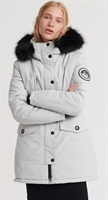 Picture of Superdry Ladies Jacket Ashley Everest Parka Glacier Grey