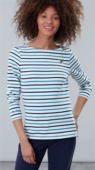 Picture of Joules Top Harbour Embroidered Buzzing Bee Stripe