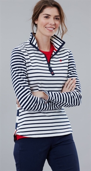 Picture of Joules Sweatshirt Fairdale Cream Navy Stripe