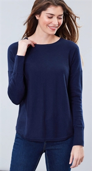 Picture of Joules Knitwear Poppy French Navy