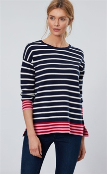 Picture of Joules Knitwear Uma French Navy