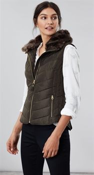 Picture of Joules Gilet Maybury Heritage Green