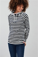 Picture of Joules Sweatshirt Mayston Cream Navy Stripe