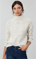 Picture of Joules Knitwear Joyce Cream Flecks