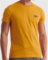 Picture of Superdry T-Shirt Orange Label Vintage Embroidery Creek Ochre Gold