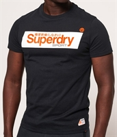 Picture of Superdry T-Shirt Speed Box Black
