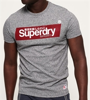 Picture of Superdry T-Shirt Speed Box Grey Grit
