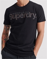 Picture of Superdry T-Shirt Retro Sport Tonal Navy