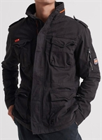 Picture of Superdry Jacket Classic Rookie Pocket Furnace Black