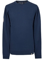 Picture of Pretty Green Sweatshirt Loopback Crew Navy