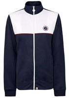 Picture of Pretty Green Jacket Contrast Panel Track Top Navy / White