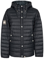Picture of Pretty Green Jacket Quilted Black