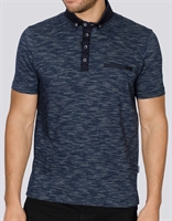 Picture of Bewley & Ritch Polo Shirt Foden Navy Multi
