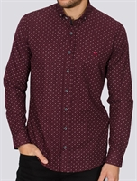 Picture of Bewley & Ritch Shirt Bul Burgundy