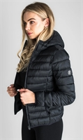 Picture of Gym King Women's GK Amie Hooded Jacket Black