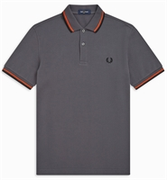 Picture of Fred Perry Polo Shirt M3600 Charcoal