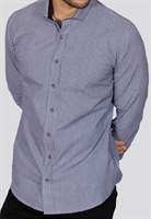 Picture of Bewley & Ritch Shirt Alkin White/Blue