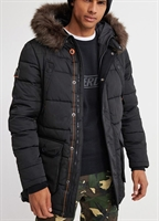 Picture of Superdry Jacket Chinook Parka Jet Black