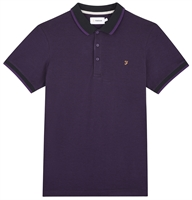 Picture of Farah Polo Shirt Basel Bright Purple