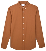 Picture of Farah Shirt Brewer Spanish Brown