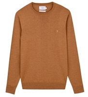Picture of Farah Knitwear Mullen Gold Marl